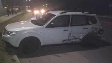 В Черкассах произошло ДТП: пострадали две женщины и ребенок