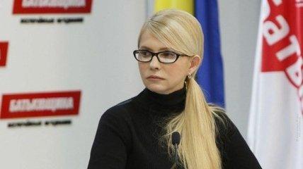 Тимошенко: новая коалиция действий должна дать результат за 100 дней