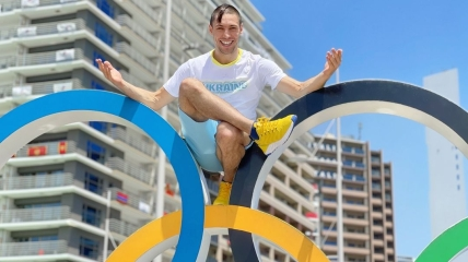Станислав Горуна на Олимпиаде в Токио