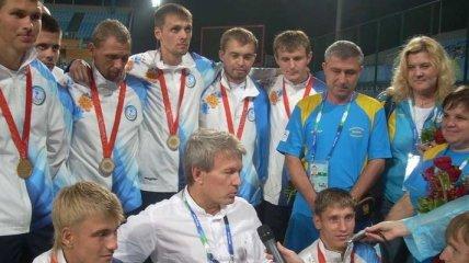 Золото Паралимпиады выиграли россияне, обыграв украинцев в футбол