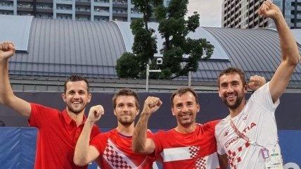 На Олимпиаде в Токио разыграли первые медали в теннисе