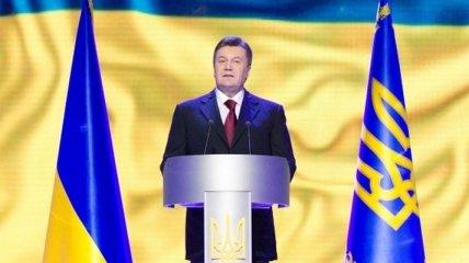 Янукович: Нужно передать следующим поколениям сильную страну