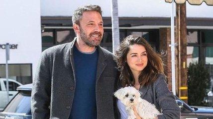 В сети появились новые снимки Бена Аффлека и Аны де Армас (Фото)