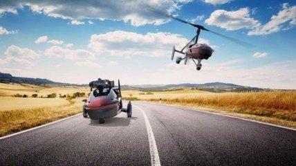 Началась продажа первого летающего автомобиля
