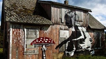 Завораживающие уличные рисунки со всего мира (Фото)