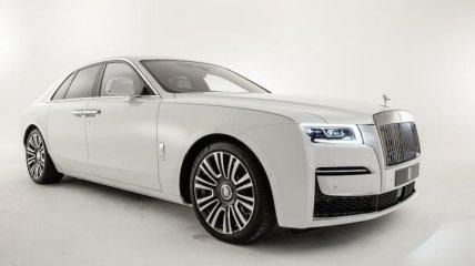 Rolls-Royce представил новый люксовый седан Ghost (Фото)