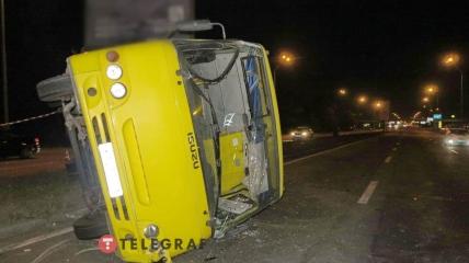 Всего было госпитализировано шесть участников аварии