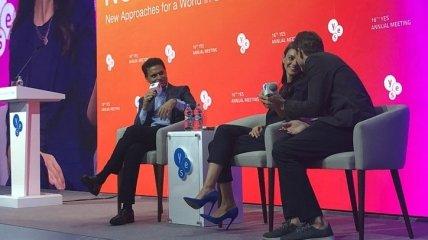 Робин Райт, Мила Кунис и Эштон Катчер тайно посетили форум YES, который прошел в Киеве (Фото, Видео)