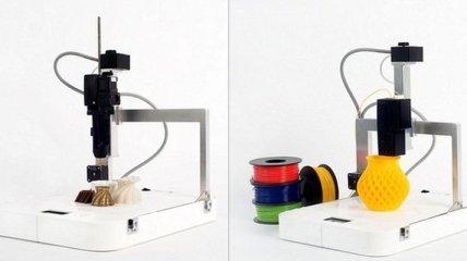 Представлен 3D-принтер, печатающий нетрадиционными материалами