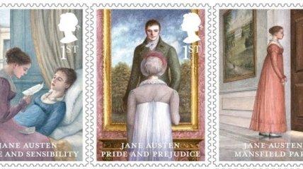 """В Англии выпустили марки в честь романа """"Гордость и предубеждение"""""""