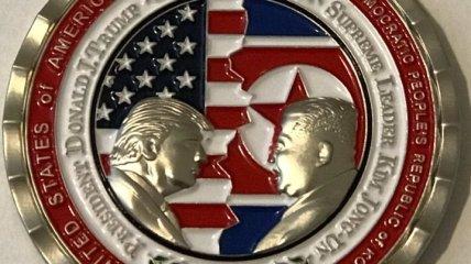 Администрация США выпустила монету по случаю еще не состоявшегося саммита с КНДР