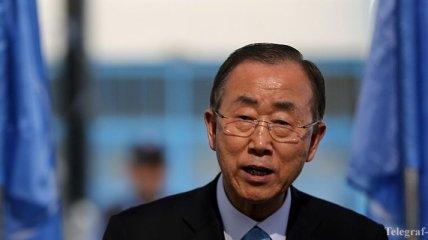Генсек ООН назвал теракт в Париже нападением на демократию
