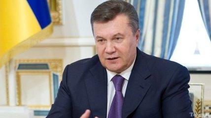 Янукович поздравил главу Черкасского облсовета с днем рождения