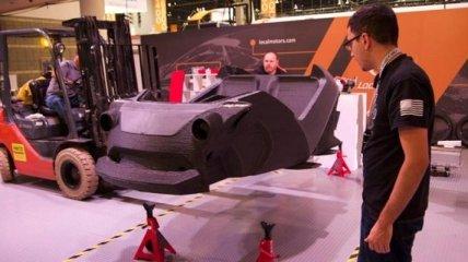 Автомобиль, который распечатан на 3D-принтере, пустят в массы