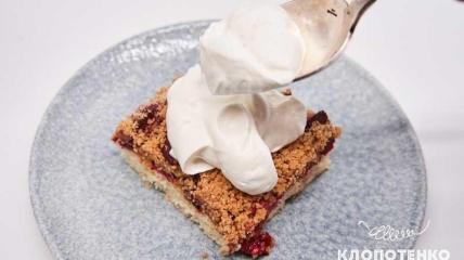 Сливовый пирог от Евгения Клопотенко