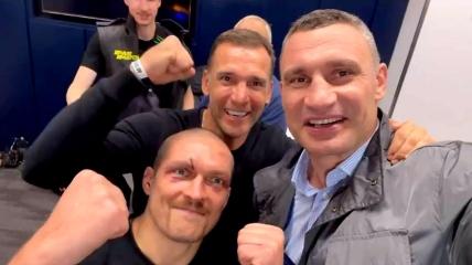 Лондонец Джошуа проиграл в поединке в супертяжелом весе с Александром Усиком