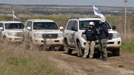 Миссия ОБСЕ за сутки зафиксировала около 255 взрывов в зоне ООС