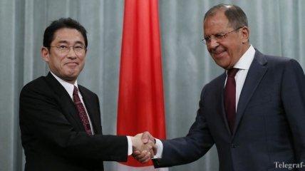 Состоялись переговоры глав МИД России и Японии
