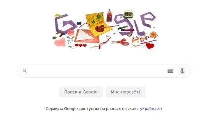 Google присвятив дудл Дню матері