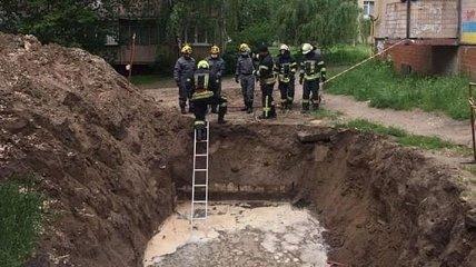 В Киеве в котловане обнаружили тело мужчины