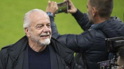 Президент Наполи поставил ультиматум футболистам