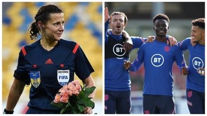 Екатерине Монзуль доверили матч сборной Англии