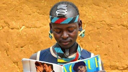 Модное племя в Эфиопии (Фото)