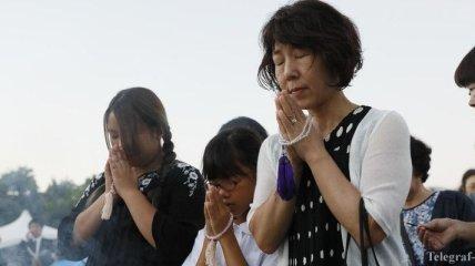 В Японии почтили память жертв бомбардировки Хиросимы (Фото)