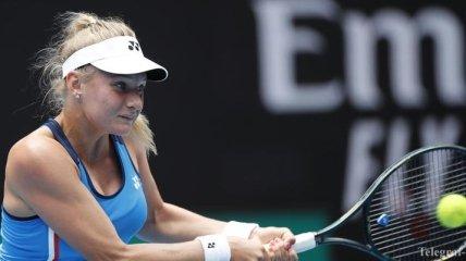 Ястремская пробилась в четвертьфинал теннисного турнира в Палермо