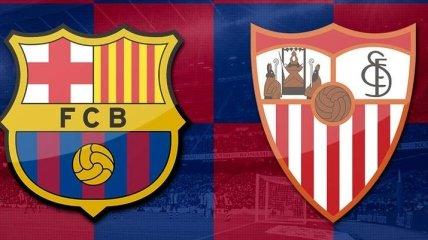 Барселона - Севилья: где смотреть главный матч 8-го тура Примеры