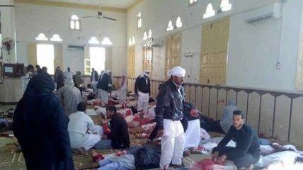 Взрыв в Египетской мечети: убитых больше двух сотен