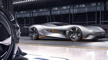 Купе Jaguar ускоряется до 100 км/ч за 2 секунды (Видео)