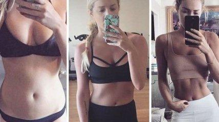 Люди, которые не скинули ни одного килограмма, но изменились в теле (Фото)