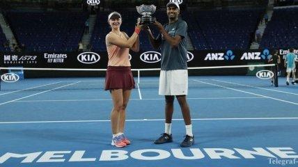 Теннис. Определились победители Australian Open-2019 в миксте