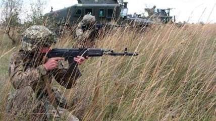 На Донбассе один украинский военнослужащий получил ранение