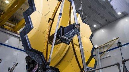 "NASA успешно раскрыла зеркало телескопа ""Джеймс Уэбб"" (Фото, Видео)"