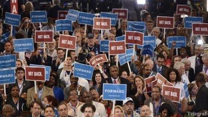 Съезд демократов в США спровоцировал массовые акции протеста