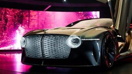 """Электромобиль с """"дворецким"""": Bentley выпустила концепт-кар к столетнему юбилею"""