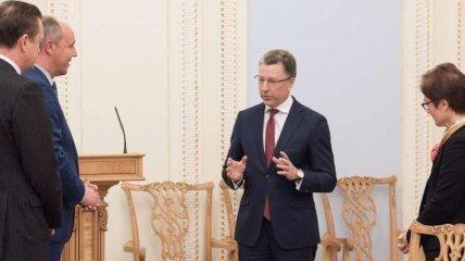 Волкер высказался за сохранение санкций против России