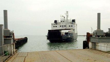 Керченская переправа остановила работу из-за погодных условий