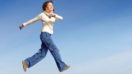 Правильная походка помогает похудеть