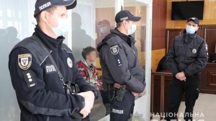 Суд по делу об убийстве полицейского в Чернигове