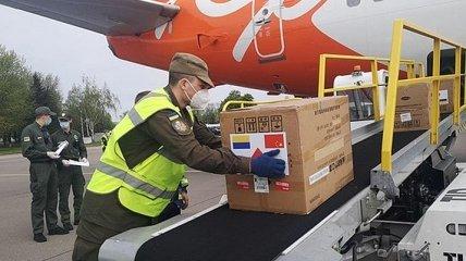 В Украину прибыл из Китая последний самолет с медпомощью