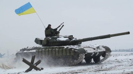 Ночь в АТО: Украинские позиции продолжают обстреливать