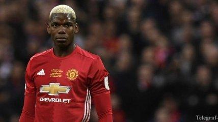 "На Погба напали фанаты ""Манчестер Юнайтед"""