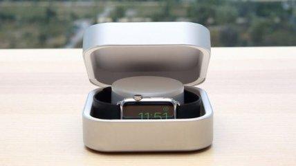 Стильный кейс Amber позволяет до 8 раз зарядить Apple Watch (Видео)