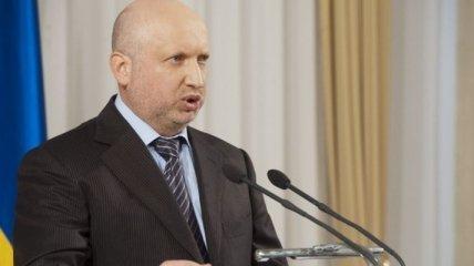 Турчинов ожидает тщательного расследования гибели нацгвардейцев в ДТП