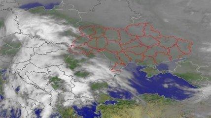 Мощный циклон накроет всю Украину