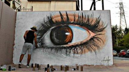 Невероятное уличное искусство изо всех уголков мира (Фото)