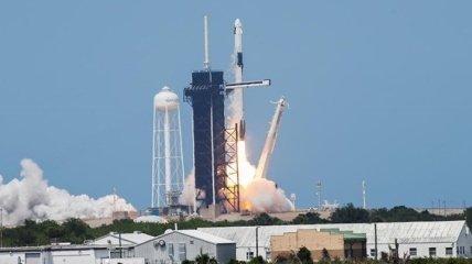 Роскосмос поприветствовал запуск Crew Dragon